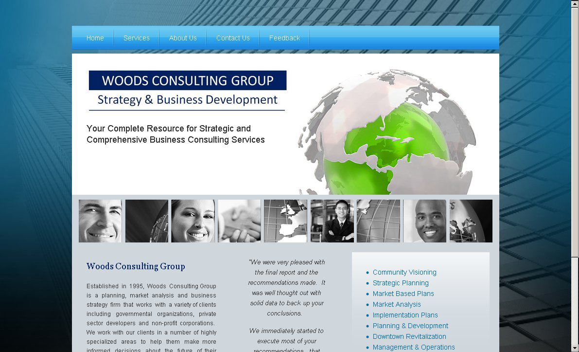 Woods Consulting Group Logo